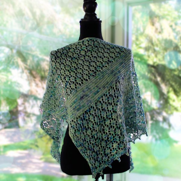 Turtle Lake Shawl